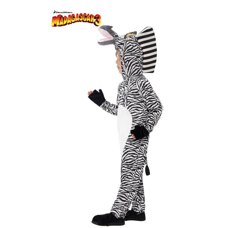 Disfraz de marty la cebra de madagascar para ni os for Disfraz de cebra