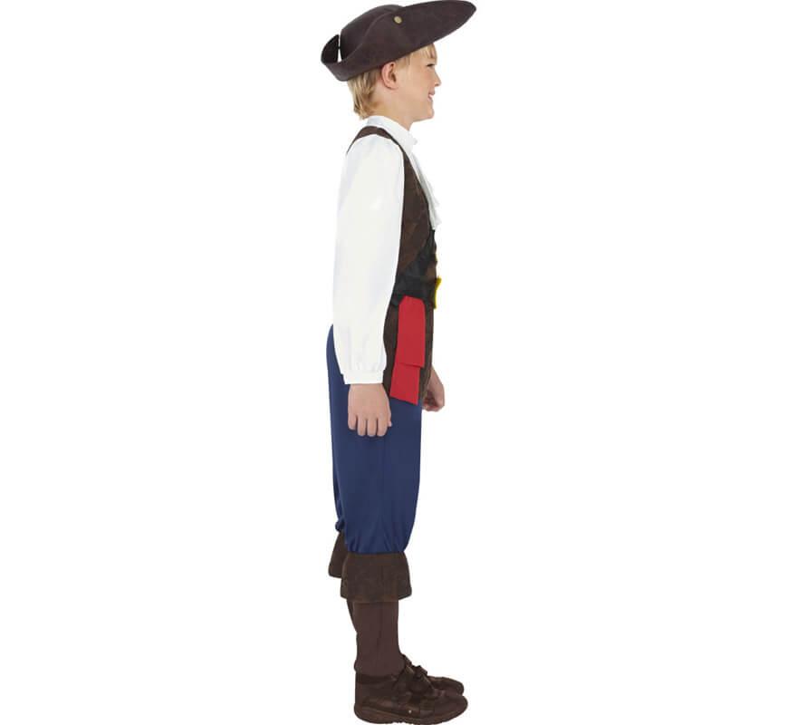 Pirate Tailles Pour Enfants Déguisement Plusieurs Jack WQxoerdCB