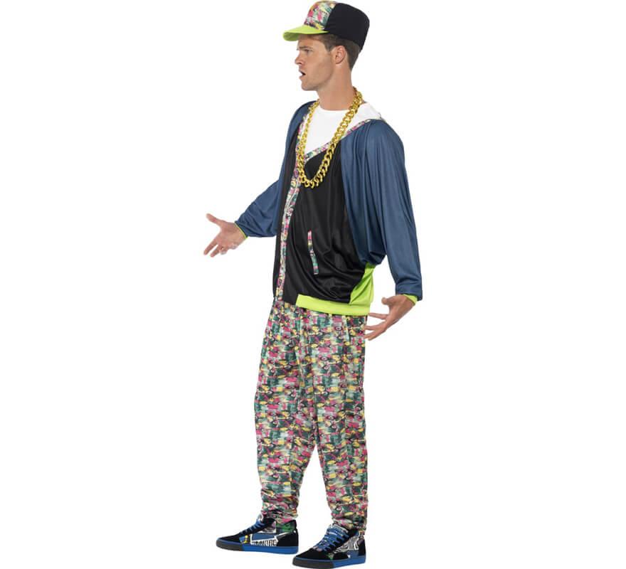 b0d6c1ec6e98d Disfraz de Rapero años 80 para hombre-0