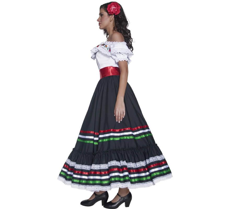 115ca40c81 Disfraz de Señorita Mexicana del Oeste para mujer-0