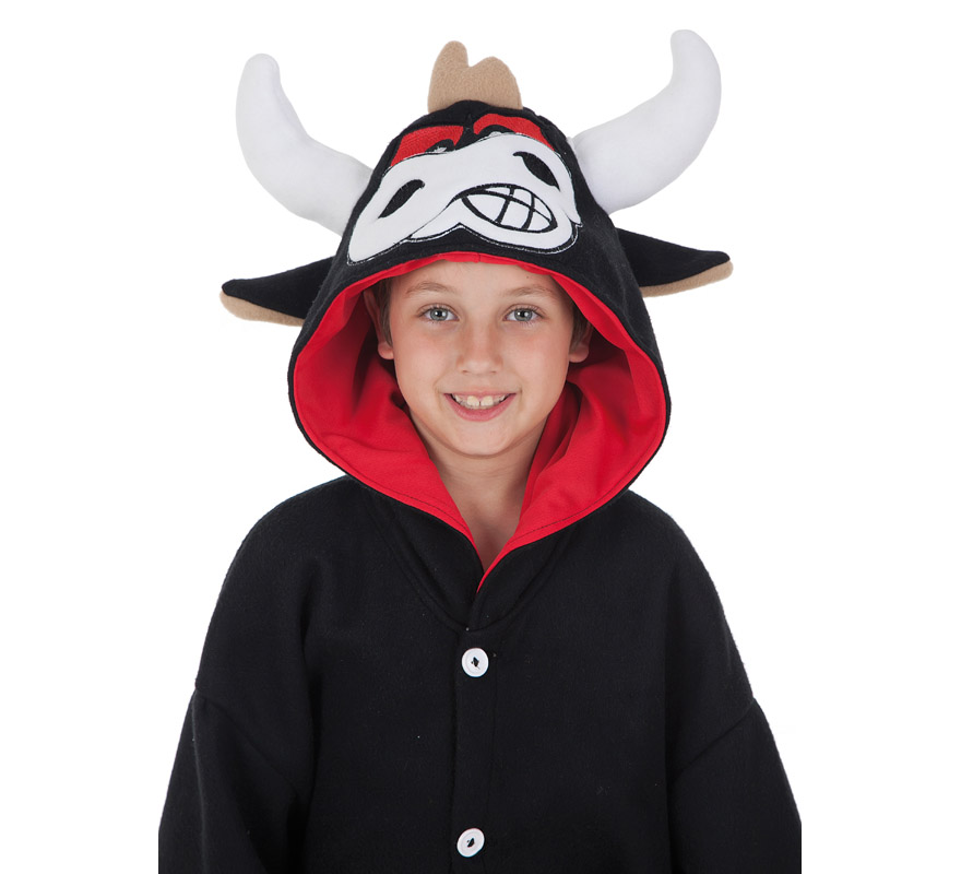 a40b5b3ebd Disfraz de Toro divertido para niño-0