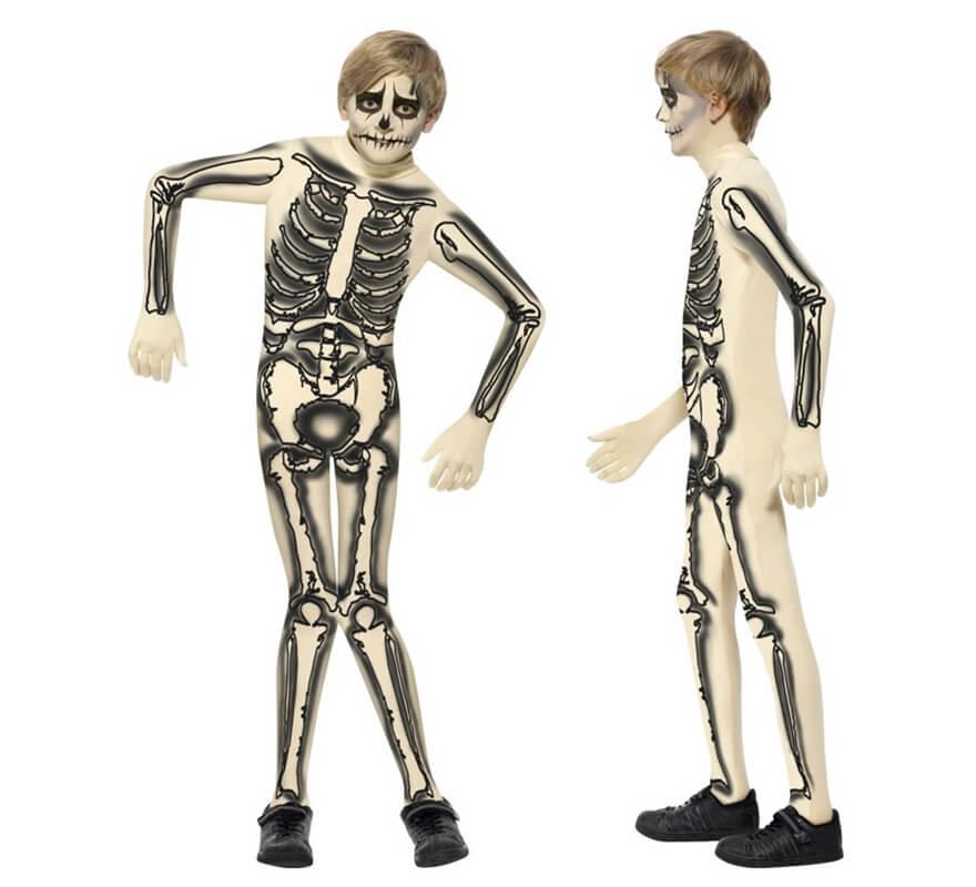d guisement squelette seconde peau pour gar on plusieurs tailles. Black Bedroom Furniture Sets. Home Design Ideas