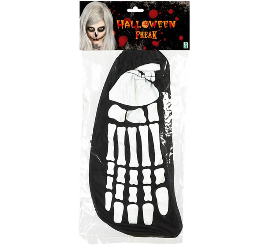 Pieds Squelette Adulte Halloween Jaune - Seulement dq3s41O