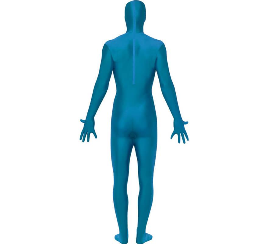 Déguisement Combinaison Seconde Peau Bleu plusieurs tailles-0 8db332315e2