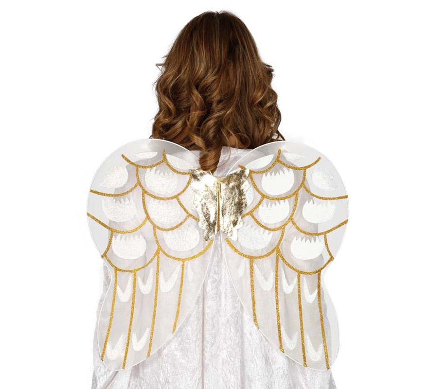 disfraz de angelito para nia