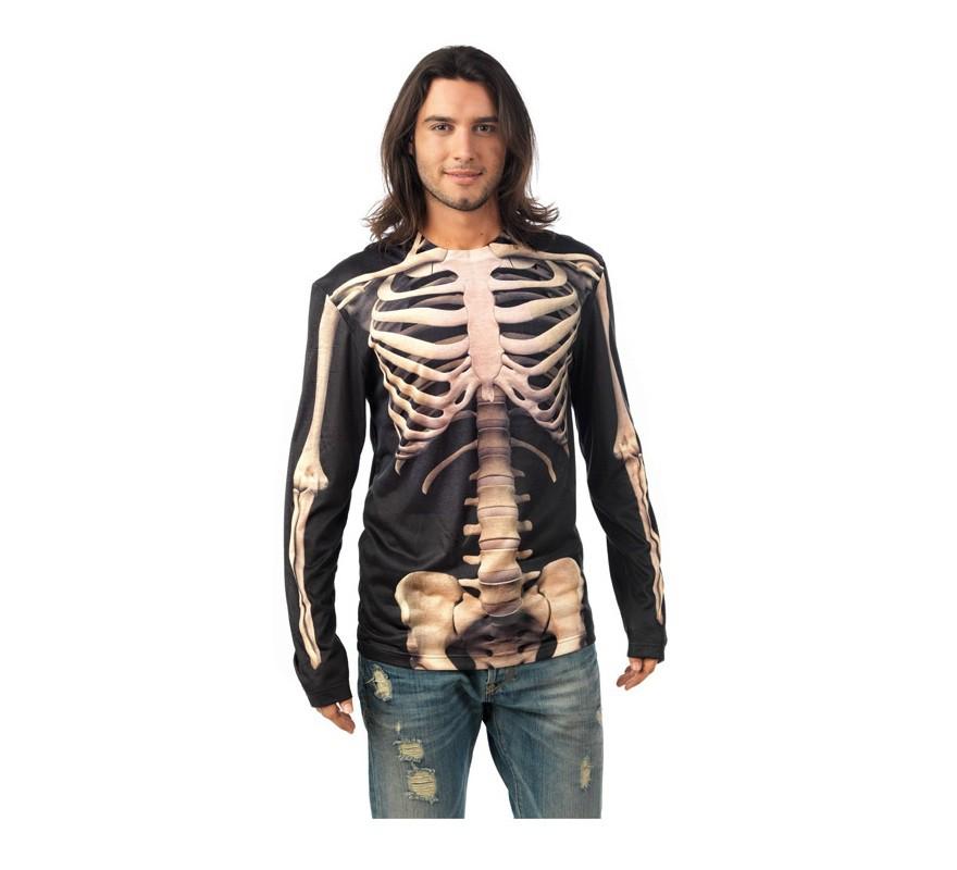 Camisa Esqueleto Deluxe para hombre