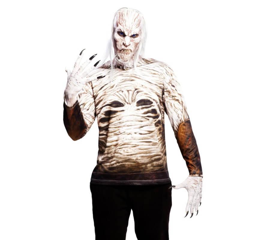 Camiseta disfraz Caminante para hombre para Halloween 464b63fb7131