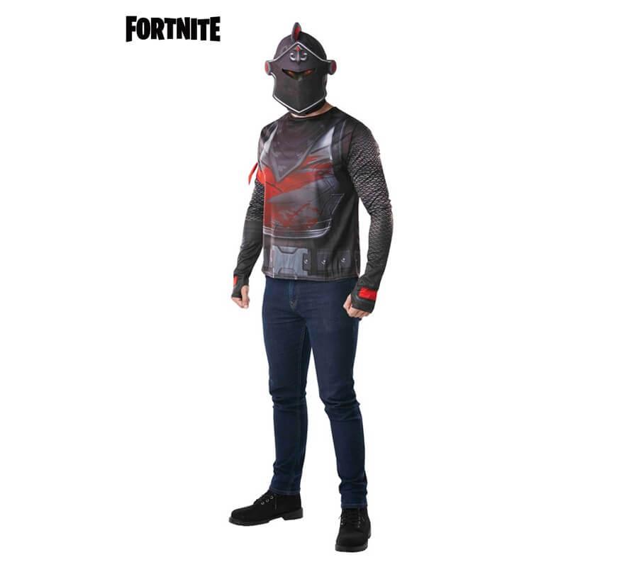 Camiseta Disfraz con Capucha Black Knight Fortnite para hombre