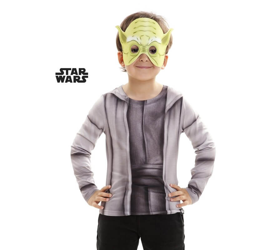 t shirt d guisement de yoda pour enfants star wars pisode vii. Black Bedroom Furniture Sets. Home Design Ideas