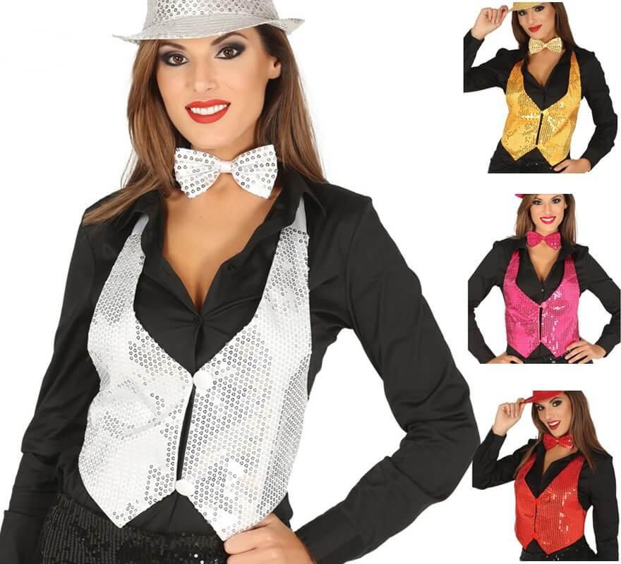 2ae62af5a Chaleco de Lentejuelas en varios colores para Mujer