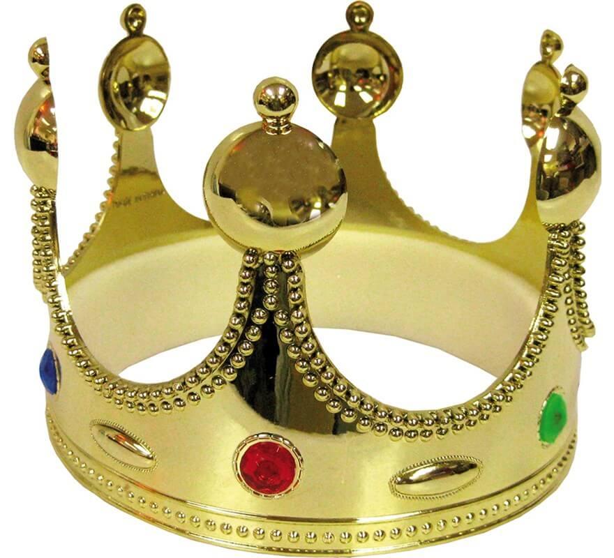 Corona De Rey Mago De Metal De Alta Calidad