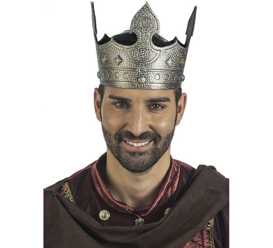 Adulto Medievale /& Gotico Tessuto Corona Costume Accessorio