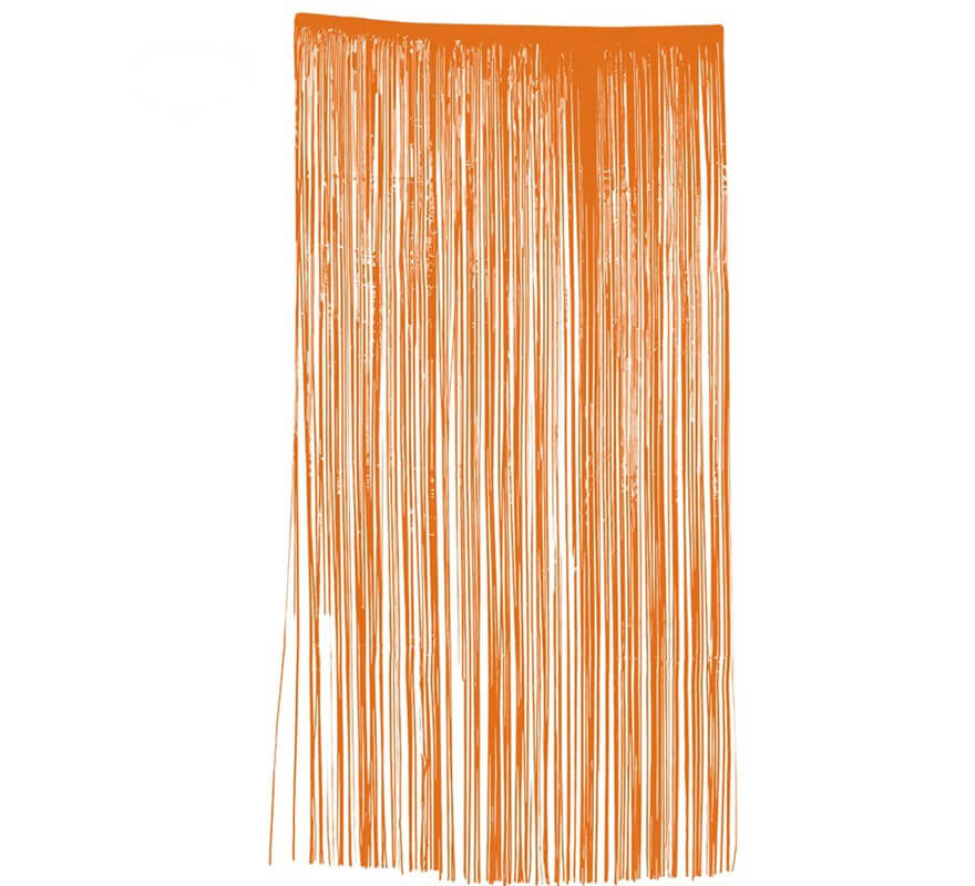 Cortina 100 x 200 cm naranja for Cortinas naranjas