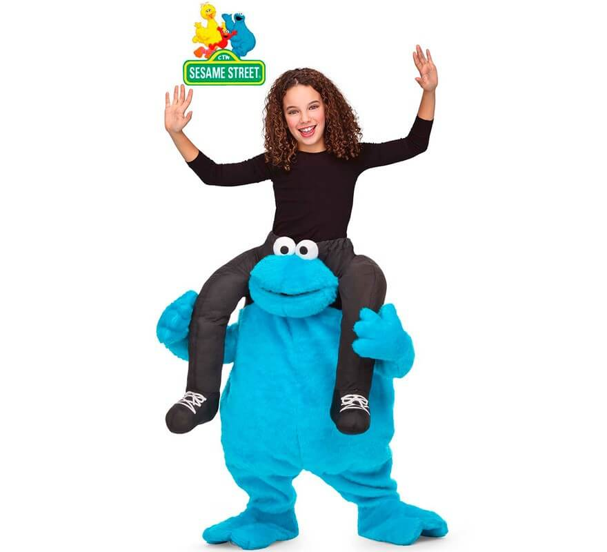 Cookie Monster Kostuem.Schulter Cookie Monster Kostum Fur Kinder