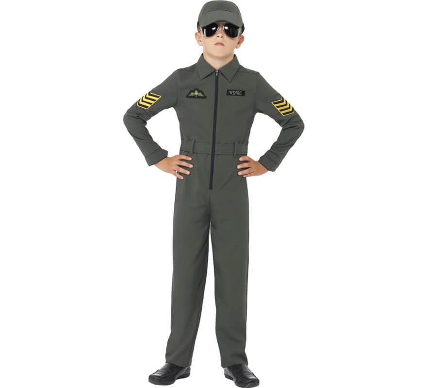 5123ba35f1a36 Disfraz Aviador Armada para Niño