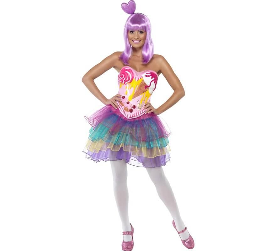 Disfraz Candy de Reina del Pop para Mujer