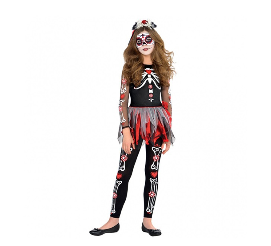 Genial traje de halloween para adolescentes