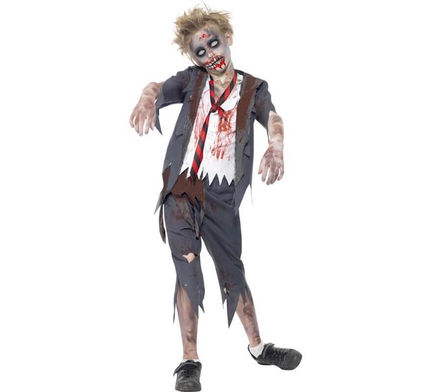 disfraz para ninos de zombie
