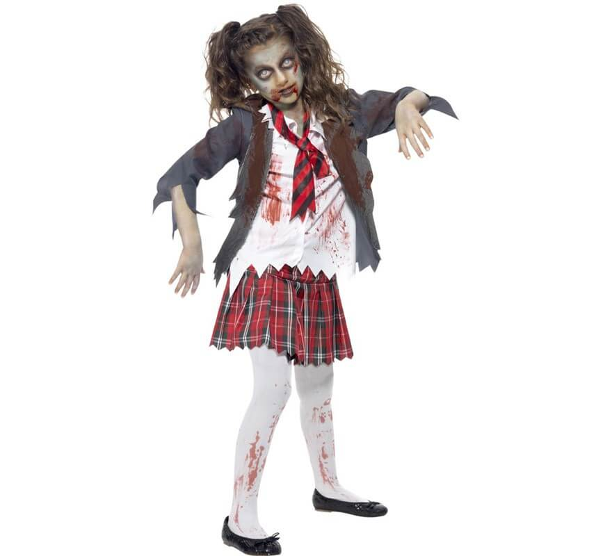 Disfraces de Zombies para Nia Disfraz de Zombie para Nias