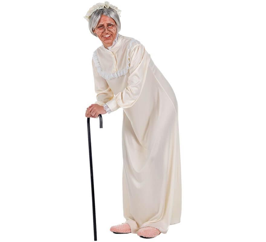 Adulto Nonna Nonnina Anziana Divertente Costume maschile da uomo addio al celibato