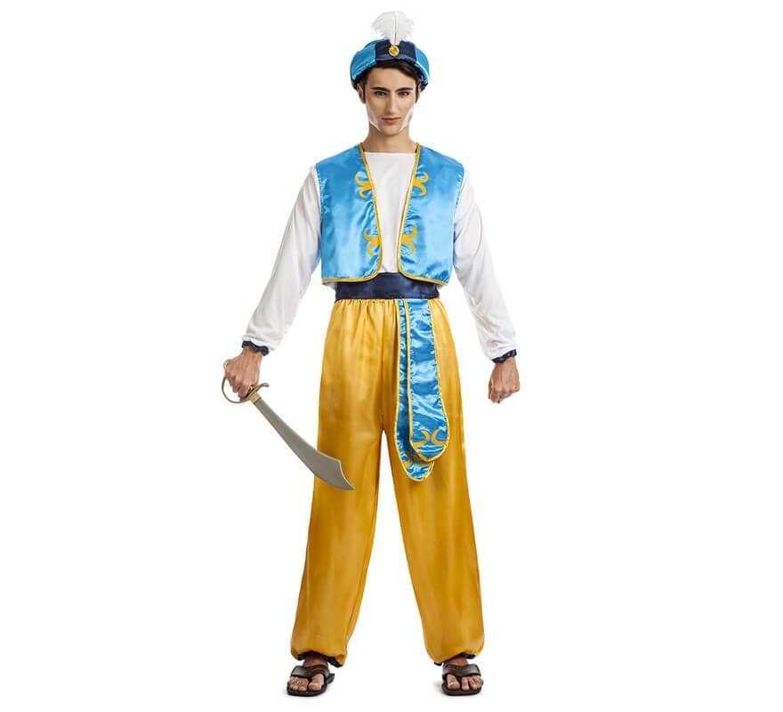 ee2a935fb Disfraz de Aladino para hombre