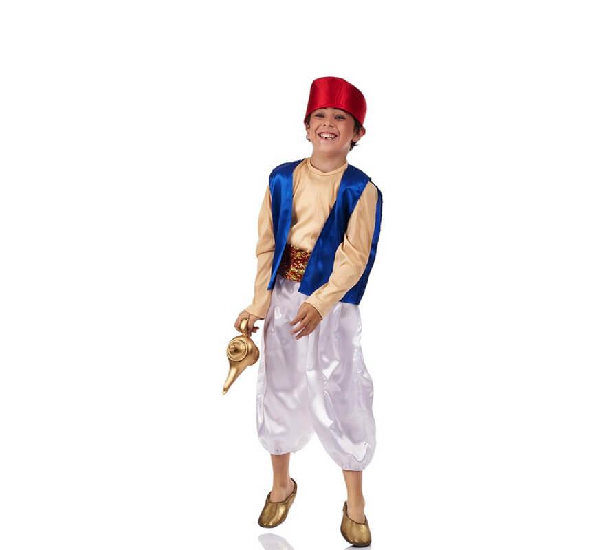 Disfraz de Aladino para niño cd2b5db3952