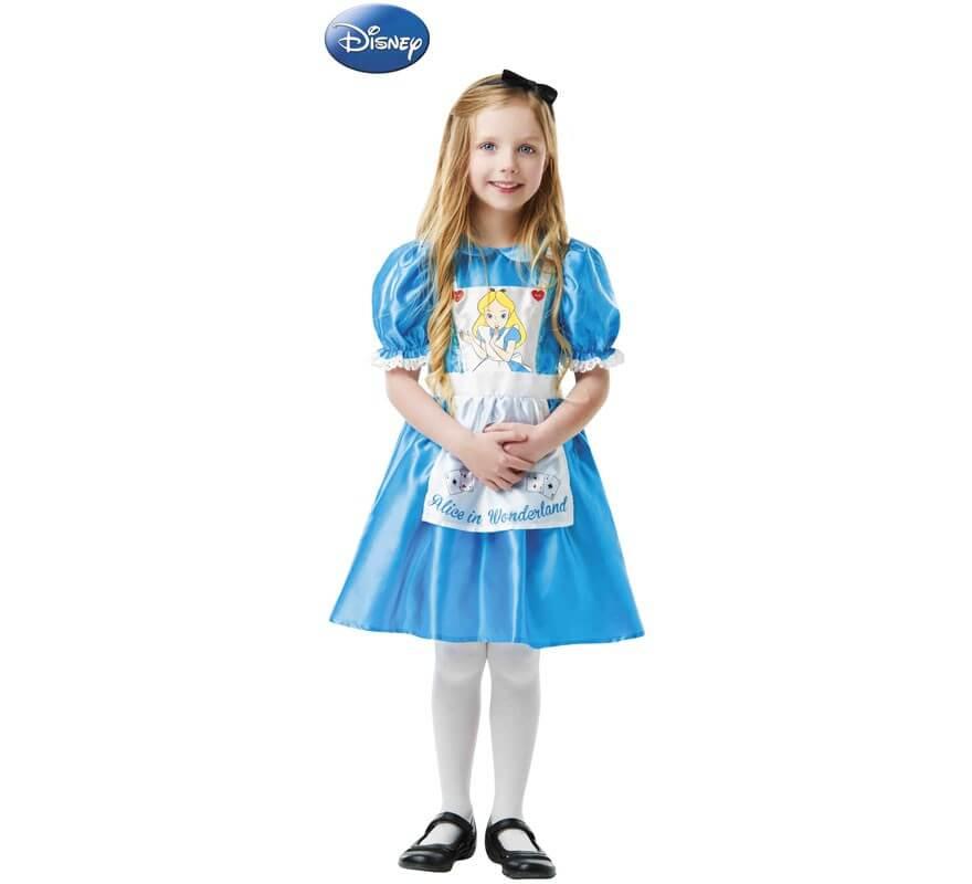 1edf7167b Disfraz de Alicia País Maravillas Clásico para niña