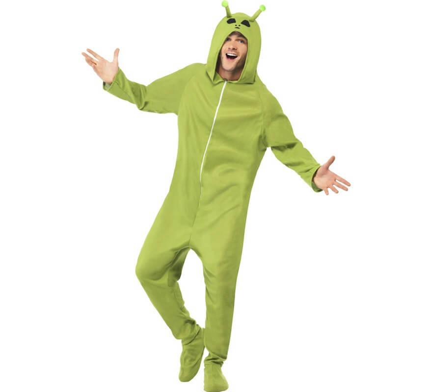 4657747b8 Disfraz de Alien verde para hombre