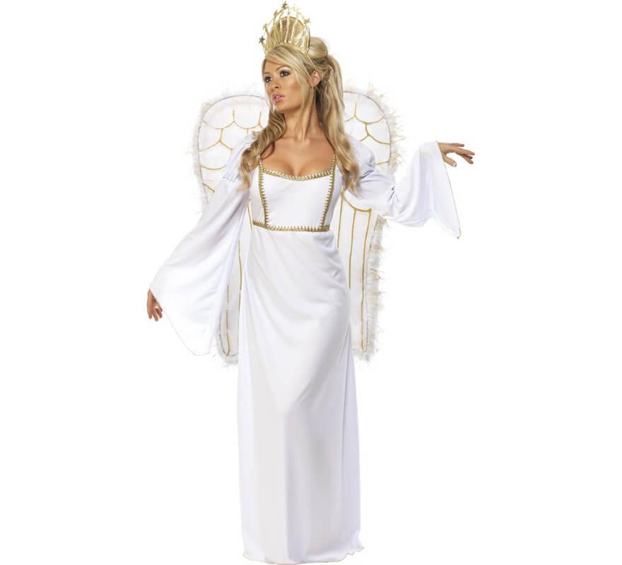 Déguisement Ange Blanc de Noël pour Femme fbe4fa4966cf