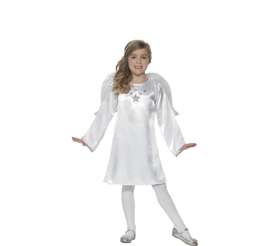 Disfraz de ngel blanco para ni a - Disfraces de angel para nina ...