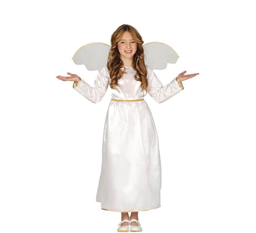 Angelo Angelo Angel Elfo Fata Costume Donna aureola vestito costume ANGELO