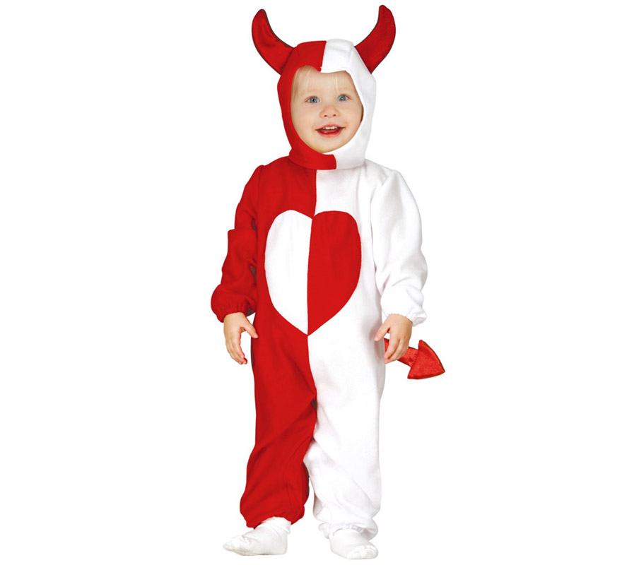 Disfraz de ngel demonio baby - Disfraz de angel nino ...