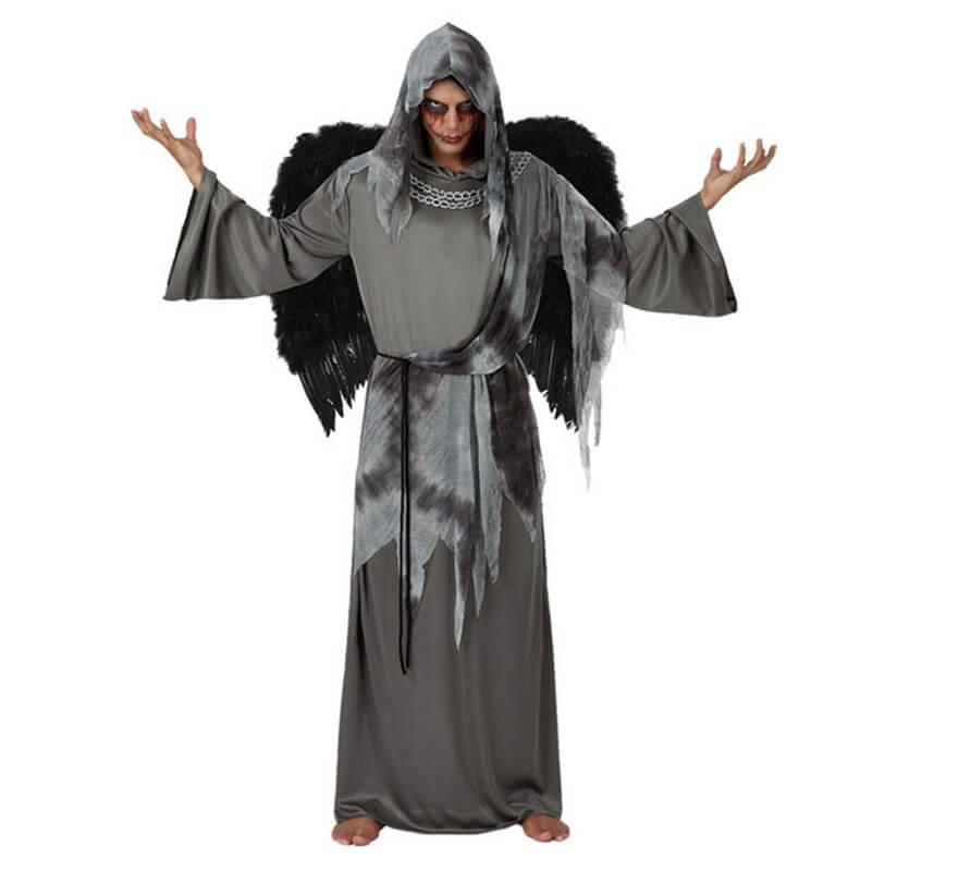 Disfraz de ngel negro para hombre talla m l - Disfraces de angel para nina ...