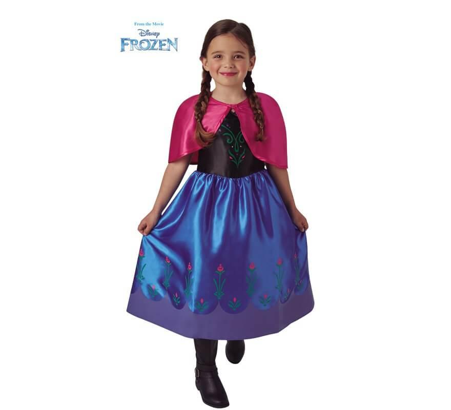 Disfraz De Anna De Frozen Classic Para Niña