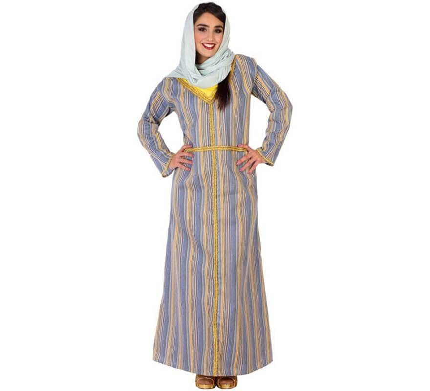 b64eab630a0d Disfraz de Árabe a Rayas para mujer