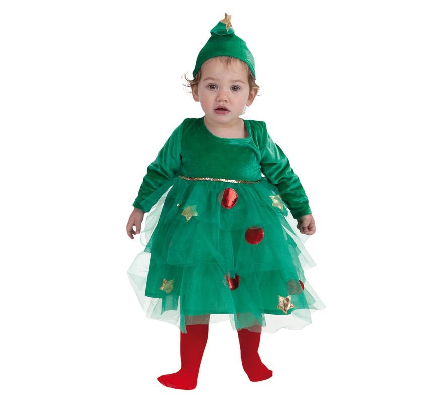 disfraz de rbol de navidad para beb