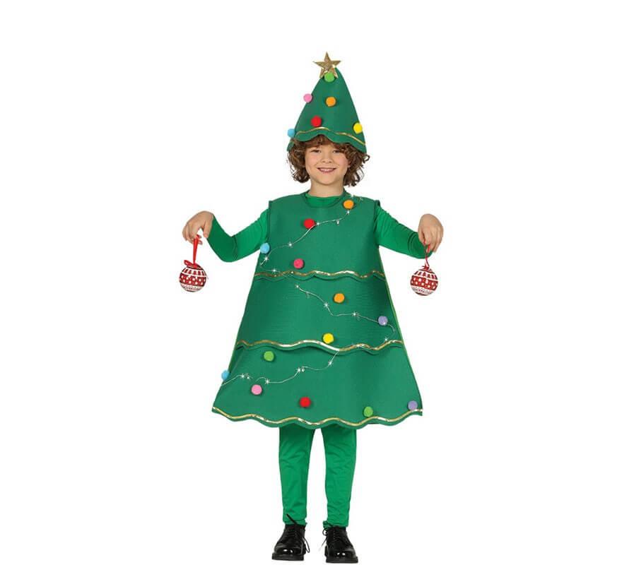 Disfraz de rbol de navidad con led para ni os - Disfraces infantiles navidad ...