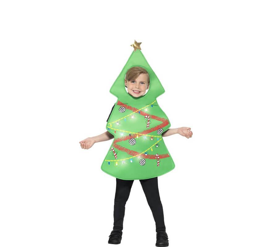 Disfraz de rbol de navidad para ni os - Arbol de navidad para ninos ...