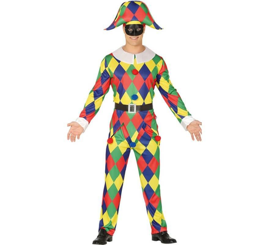Présentation Arlequin Disfraz-de-arlequin-multicolor-para-hombre-120771
