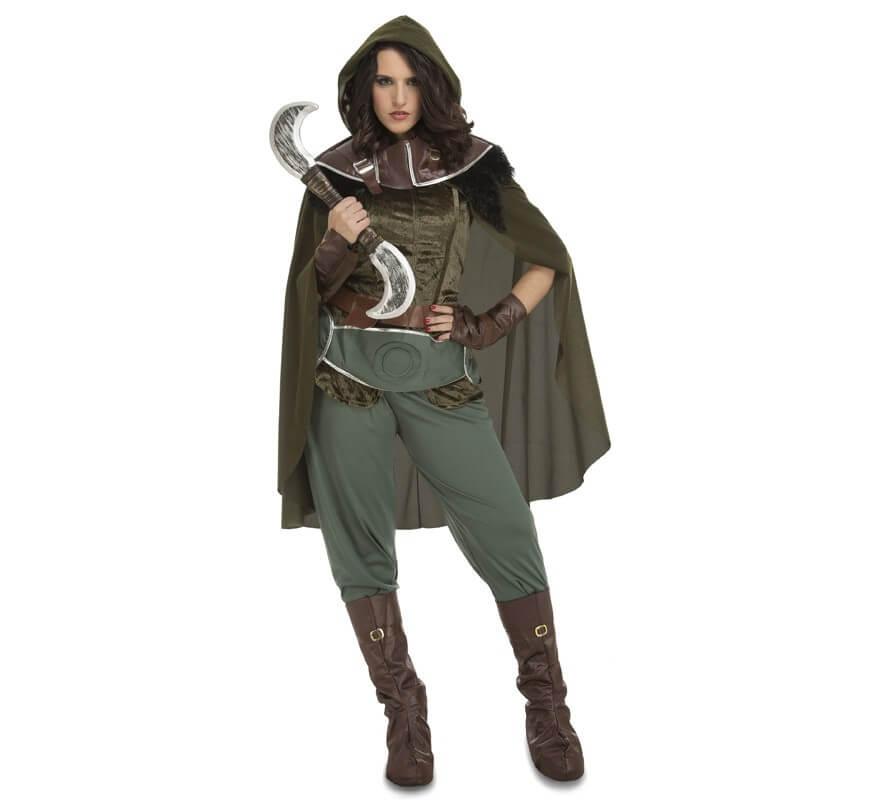 Disfraz De Arquero Medieval Enda Para Mujer - Disfraz-facil-y-rapido-para-mujer