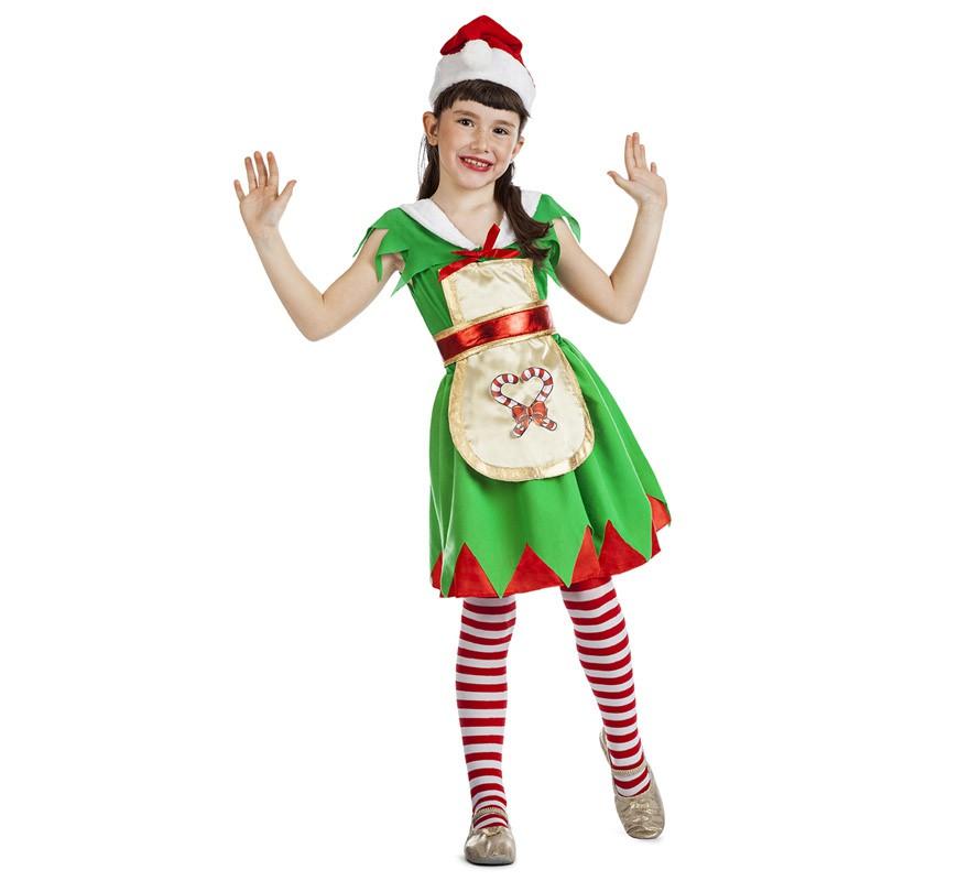 Disfraz de ayudante de santa claus para ni a - Disfraz de santa claus para nino ...