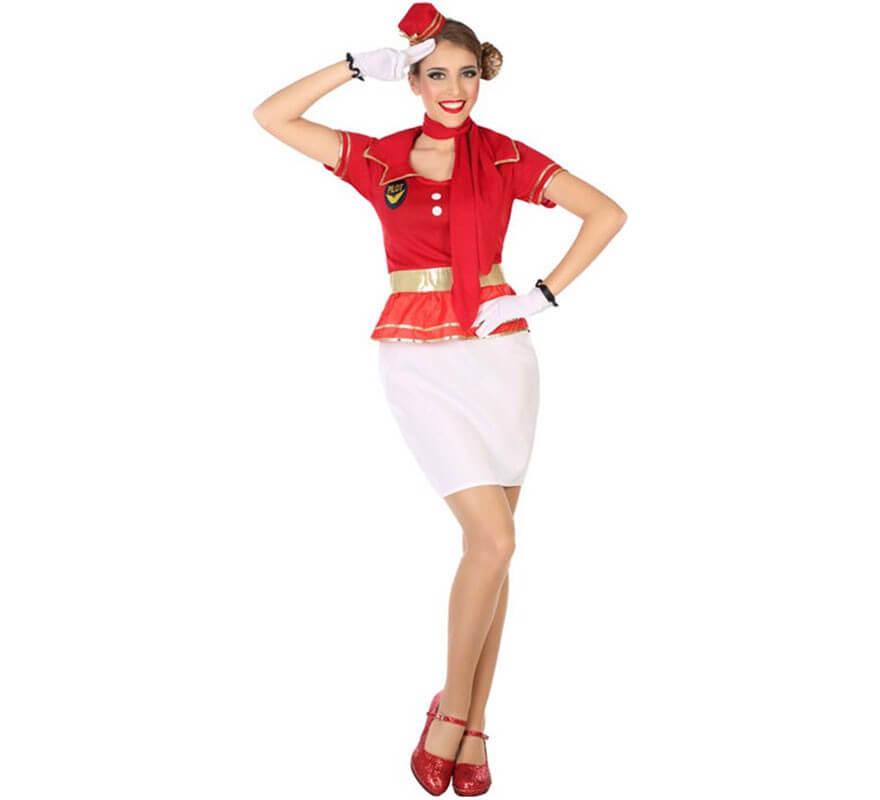 official photos c10de 81f93 Costume da hostess di volo per una donna