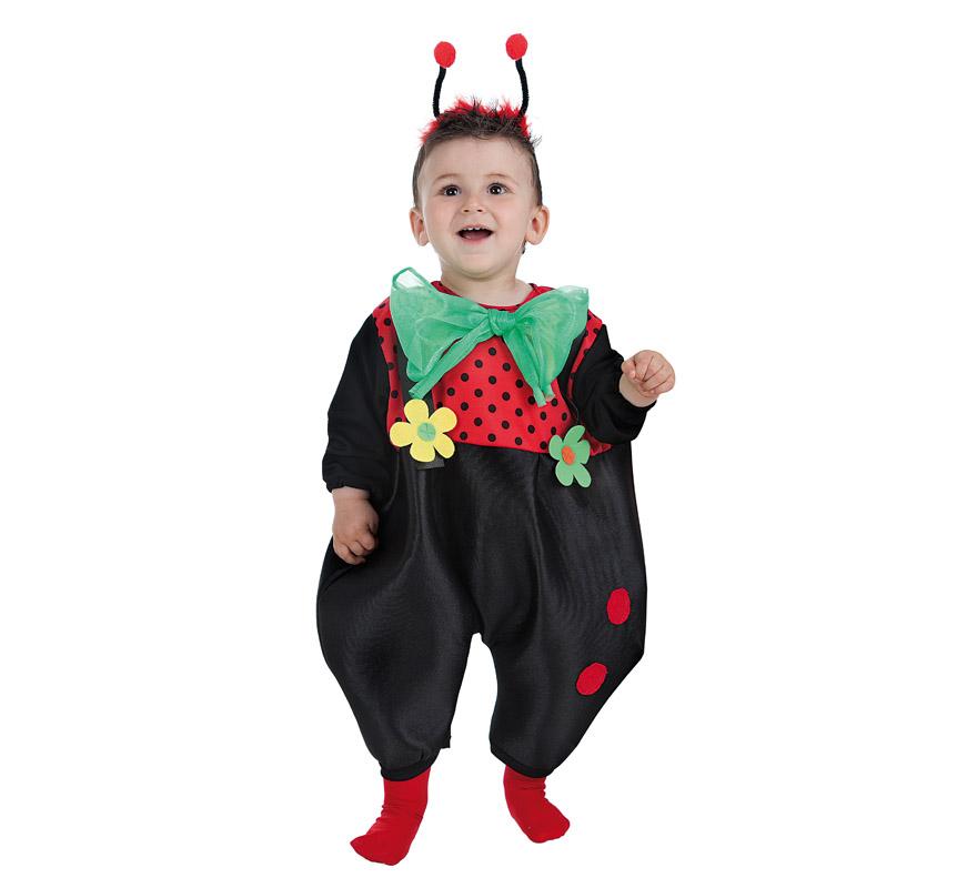 Disfraz de baby mariquita ni o para beb - Disfraz de mariquita bebe ...