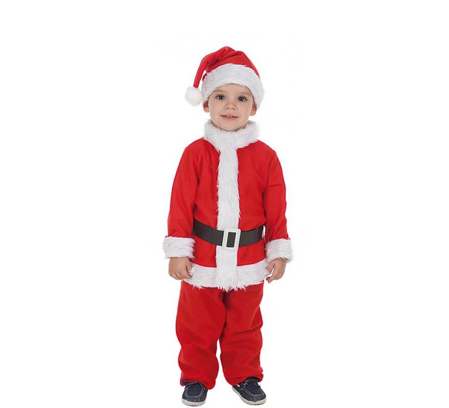 Disfraz de baby pap noel para beb - Disfraz papa noel nino ...
