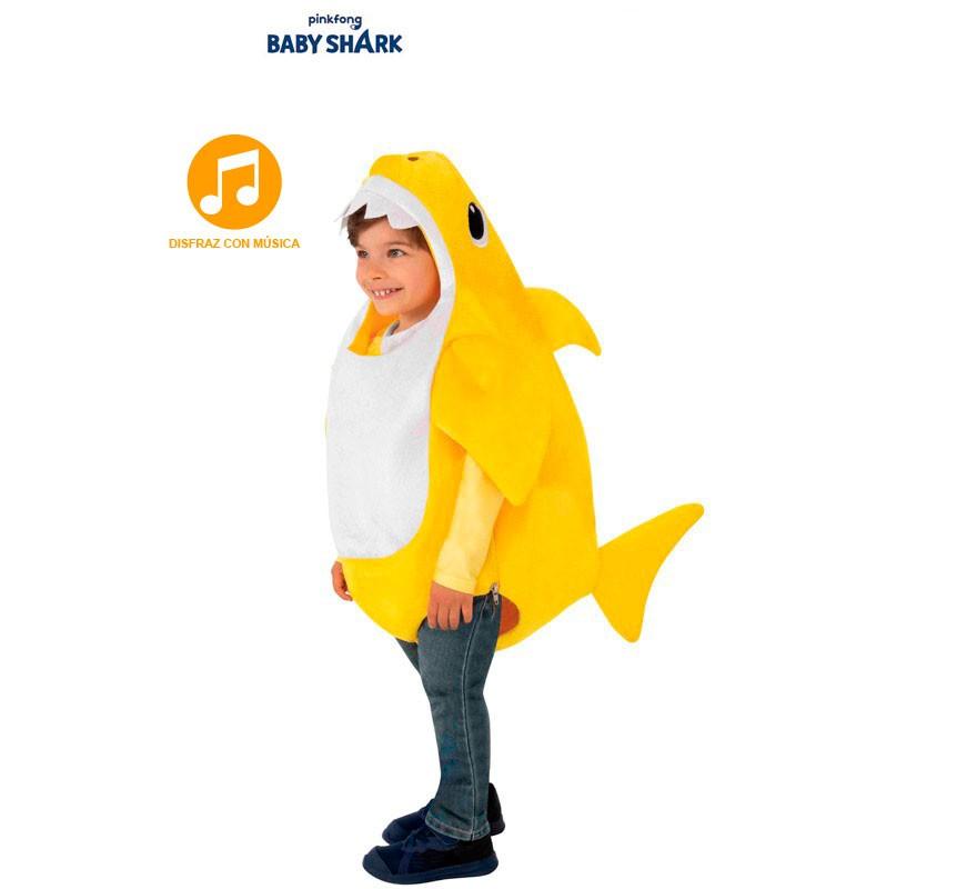Disfraz De Baby Shark Con Música Para Niños Y Bebé