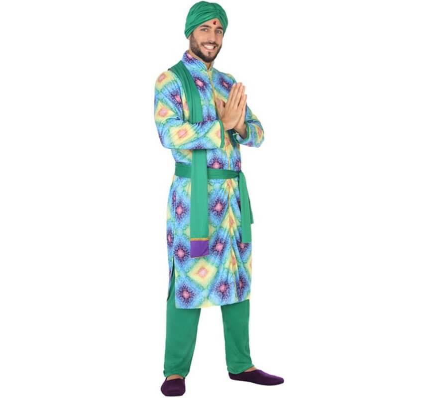 Disfraz de Bailarín Hindú Bollywood para hombre