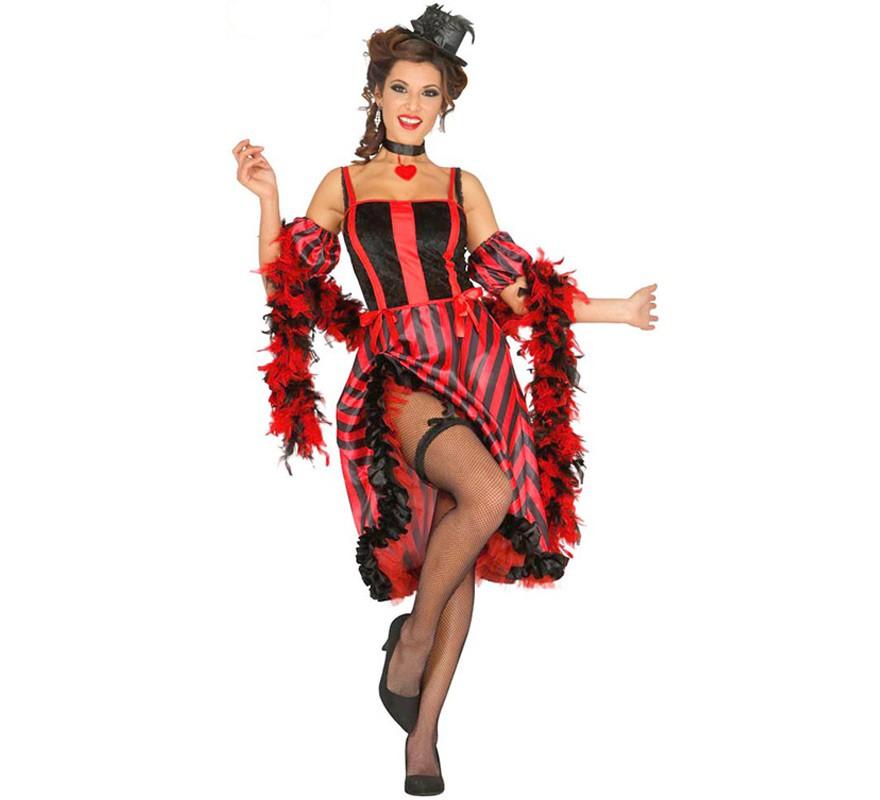 540dc32f3 Disfraz de Bailarina Can Can para mujer