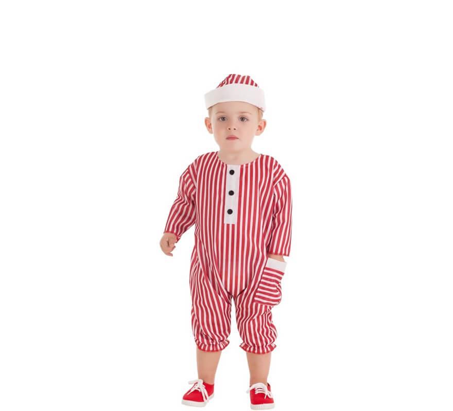 Disfraz de Bañista Retro para bebé