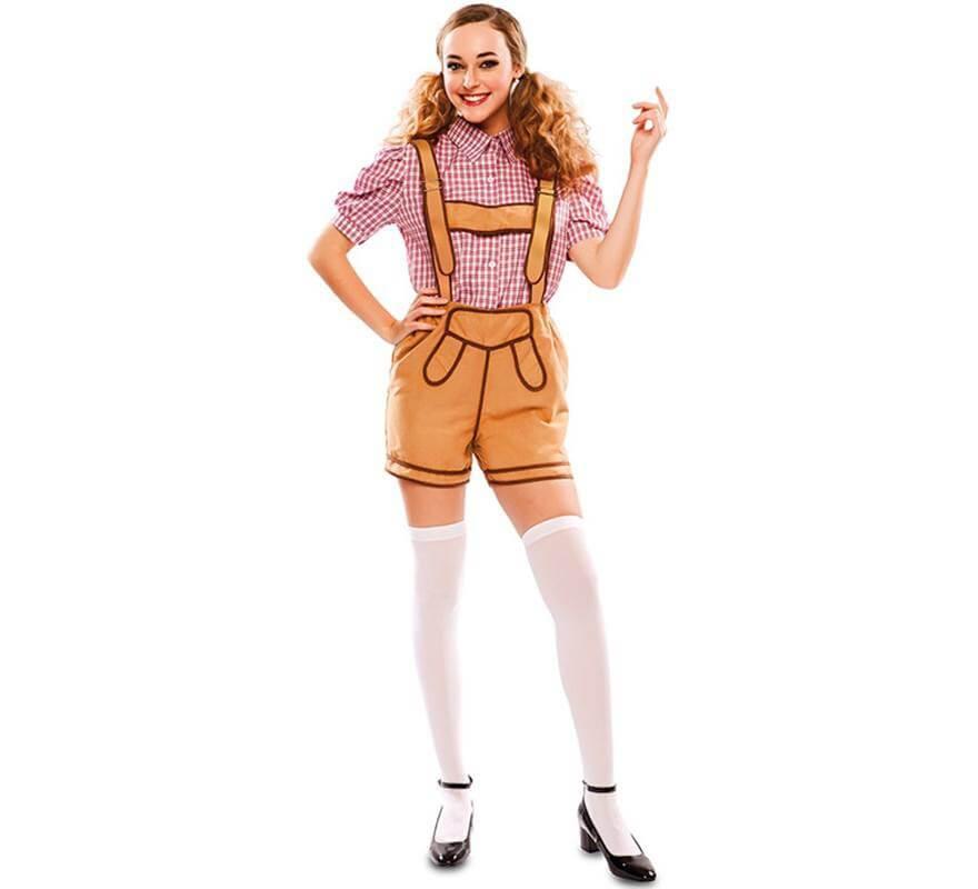 Disfraz de Bávara con pantalón para mujer 15dbd268ff1b