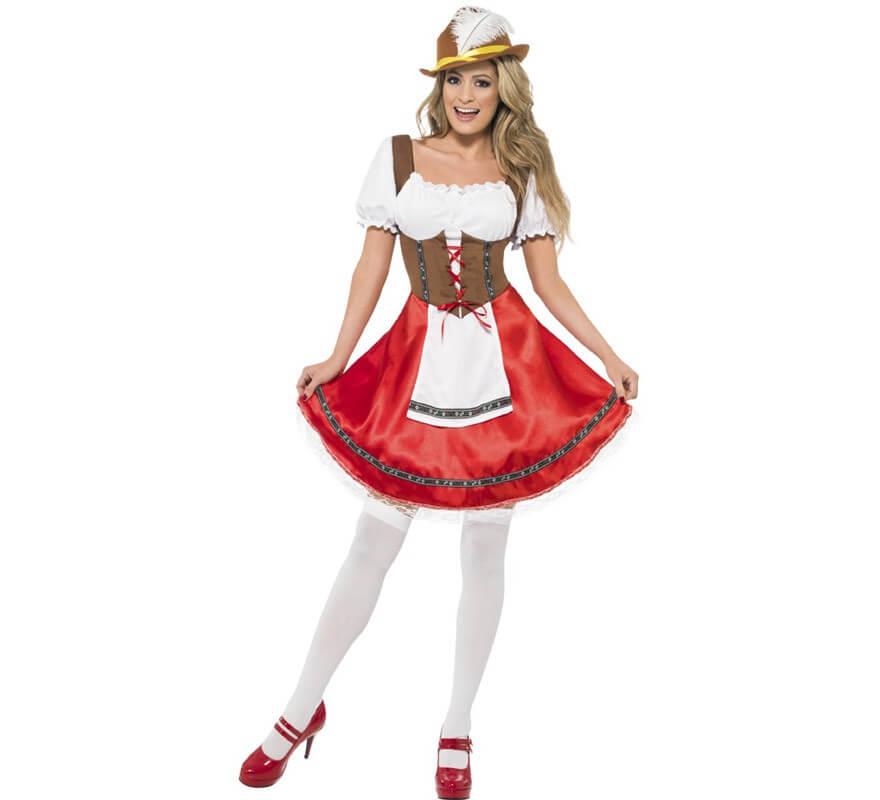 Disfraz de Bávara para Mujer para Oktoberfest 8e4e996183a2